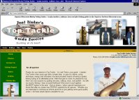 Hayward Wisconsin muskie fishing guide - musky fishing guide